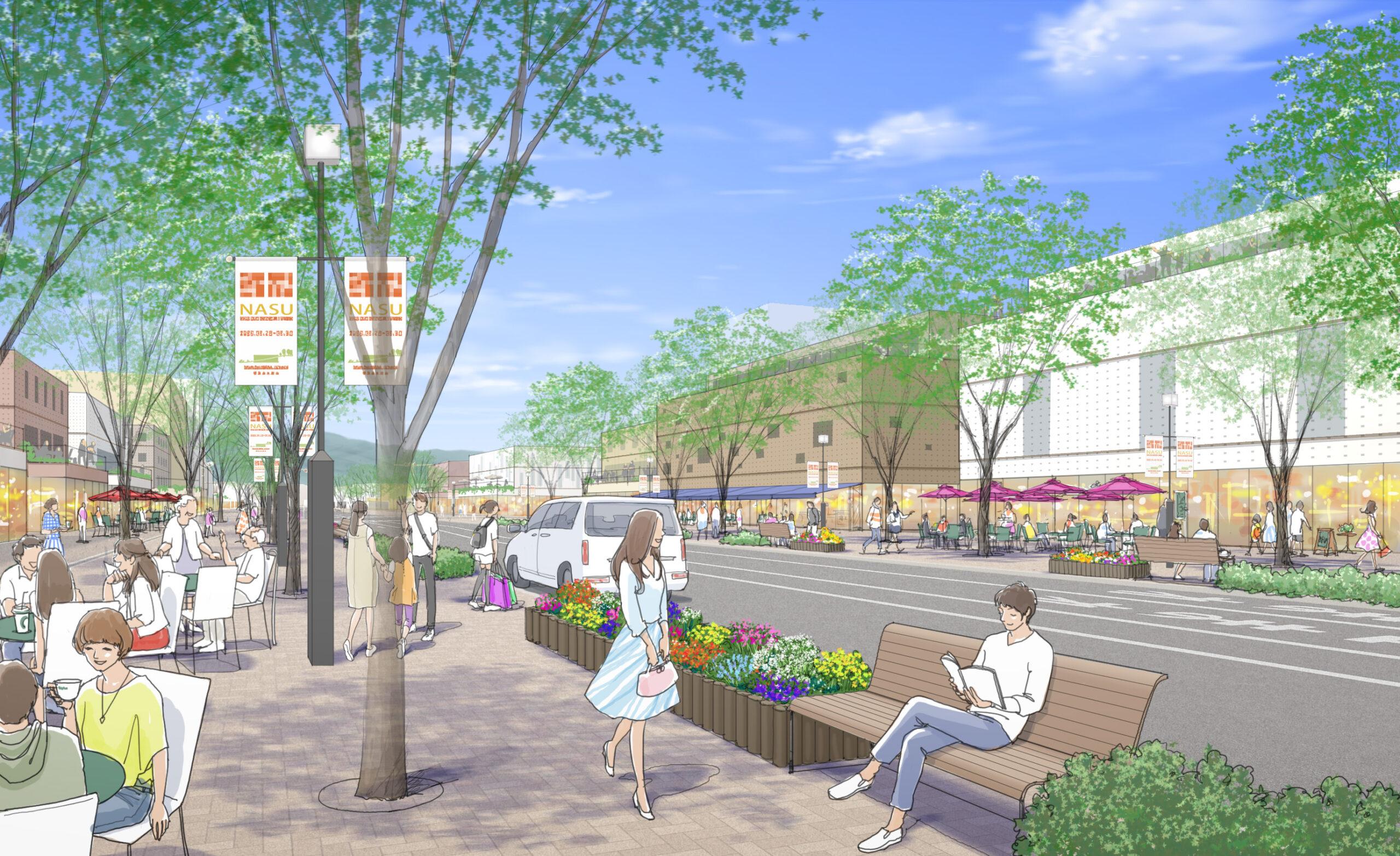計画・整備から管理運営まで、連続したマネジメントによる<br>新たな中心市街地の創生